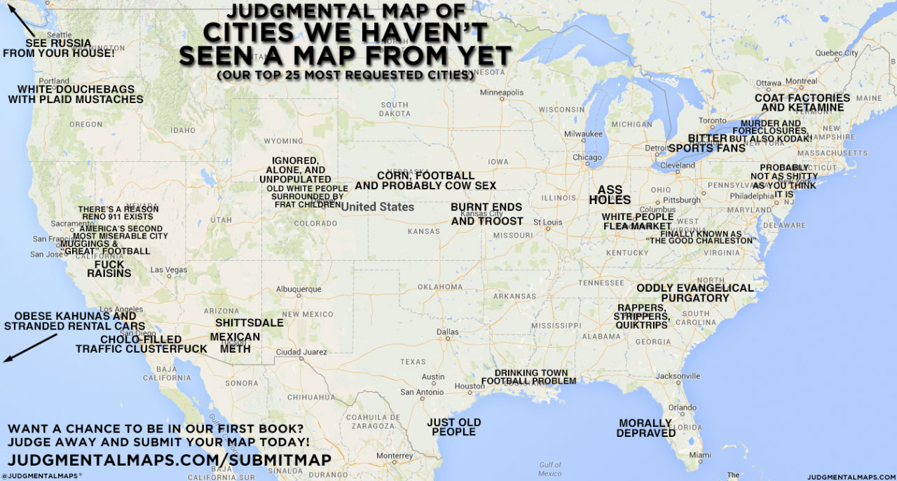 Judgmental maps - Your city. Judged. - antiAtlas of borders